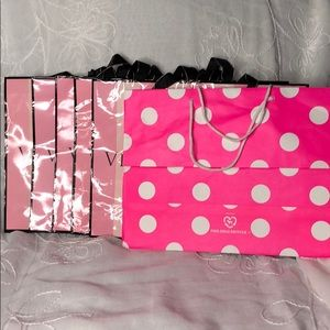 Victoria secret shopping bags